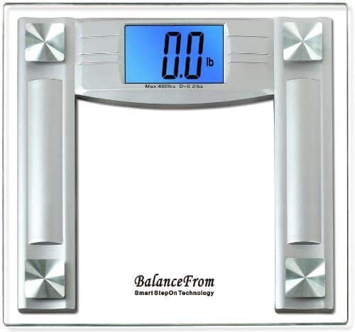 Review Bathroom Scales: Review: BalanceFrom High Accuracy Bathroom Scale