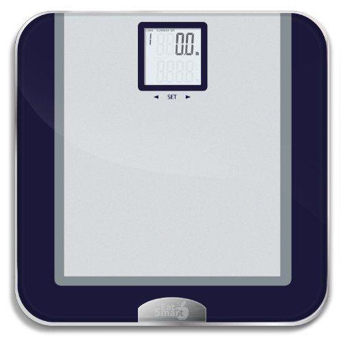 Review Bathroom Scales: Review: EatSmart Precision Tracking Digital Bathroom Scale